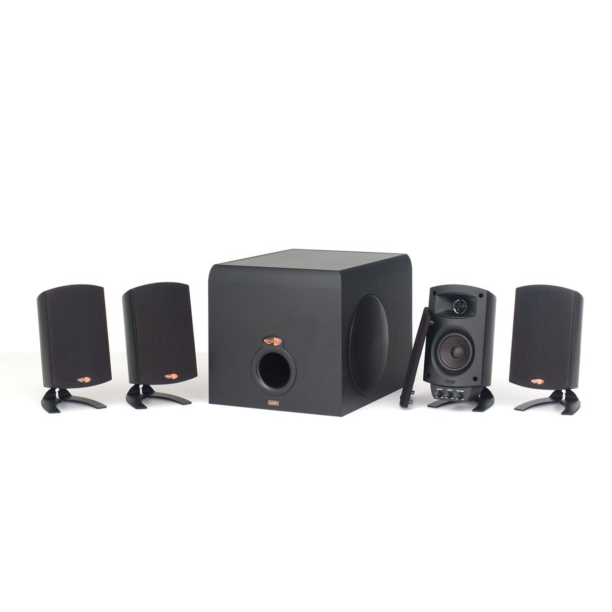 promedia v 2 400 computer speaker system klipsch. Black Bedroom Furniture Sets. Home Design Ideas