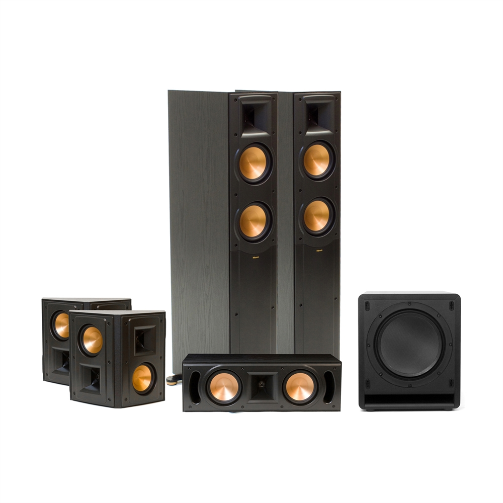 rf 52 ii reference home theater system high quality audio by klipsch. Black Bedroom Furniture Sets. Home Design Ideas