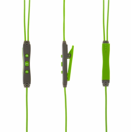 Klipsch A5i Sport In-Ear Headphones Green Controller
