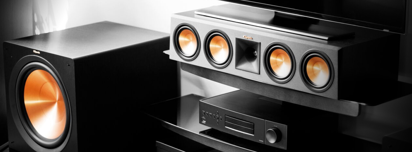 Klipsch Center Channel Speakers and Subwoofer Sale