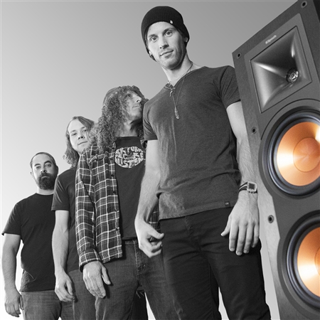 Klipsch partners with emerging rock band Hero Jr.