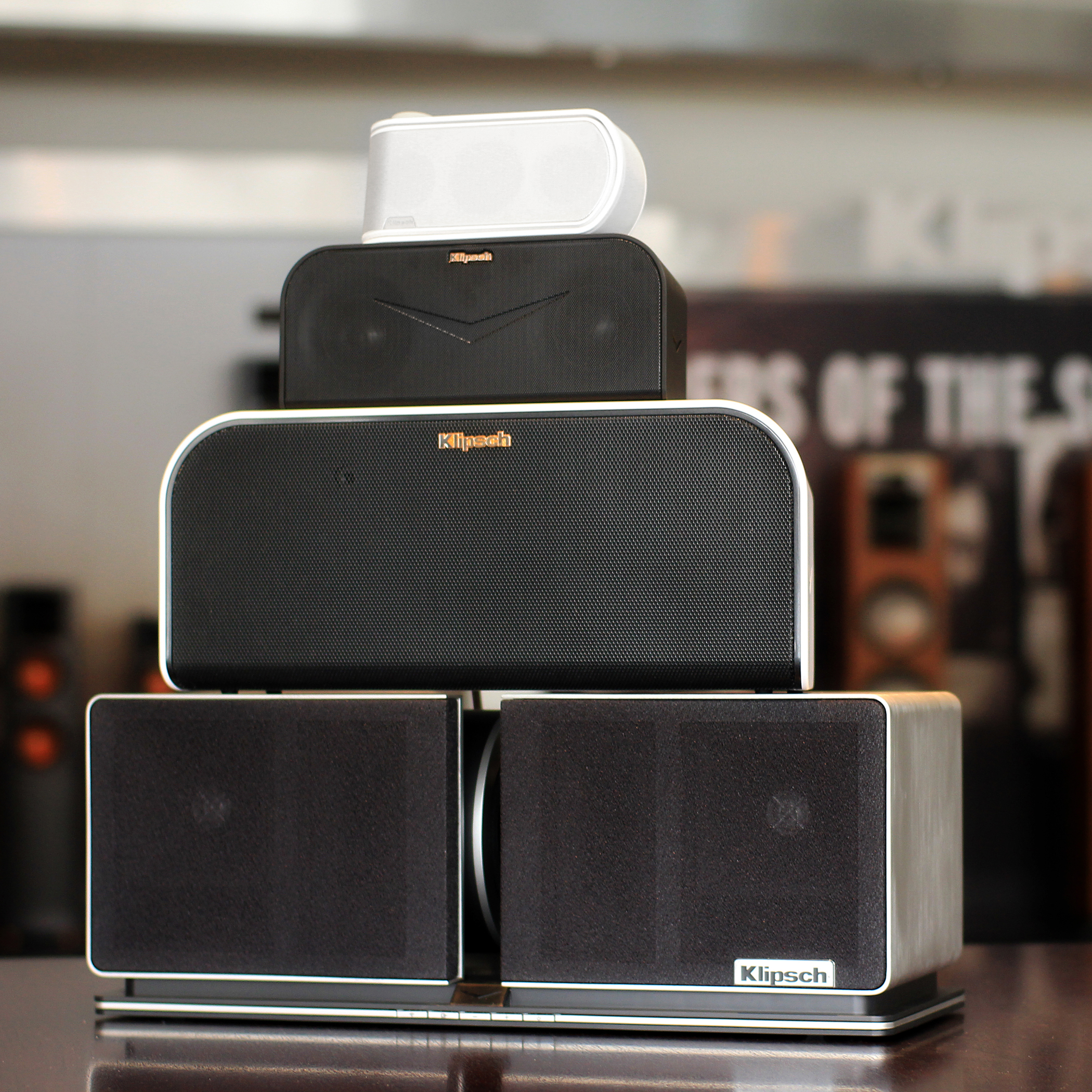 klipsch 3 1 system. klipsch speakers have always possessed a unique ability, with their unparalleled efficiency, low distortion and wide dynamic range, to reproduce sound that 3 1 system