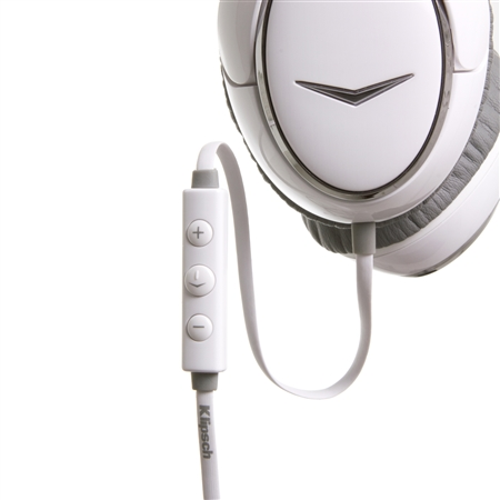 Klipsch Image ONE II White Headphones Control