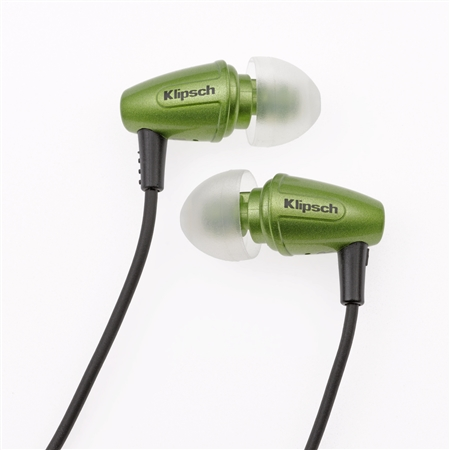 Klipsch Image S3 In-Ear Headphones Green