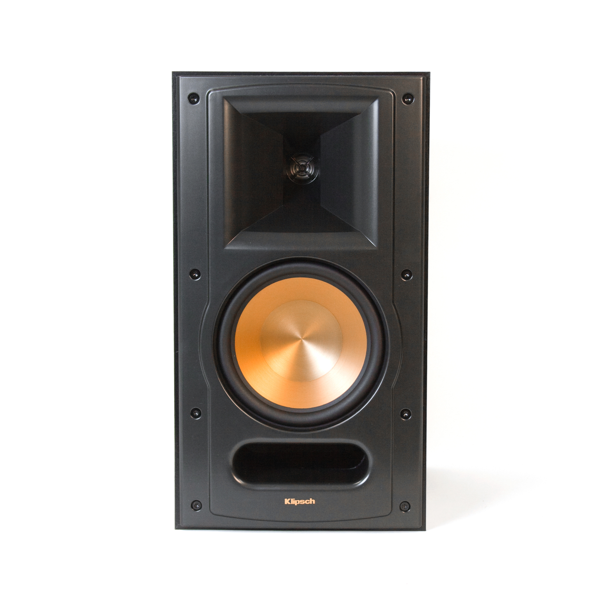 RB 61 Black FrontII_635043091305370000 rb 61 ii bookshelf speakers (pair) klipsch RF-82 System Home Theater at bakdesigns.co