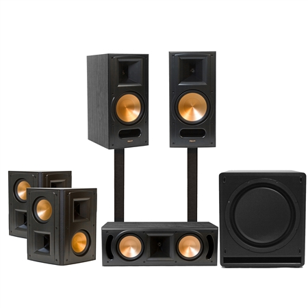 Klipsch RB-81 Home Theater System Black