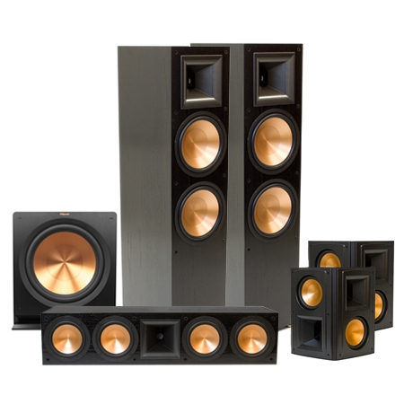 RF-7 II Home Theater System 2014 - Black