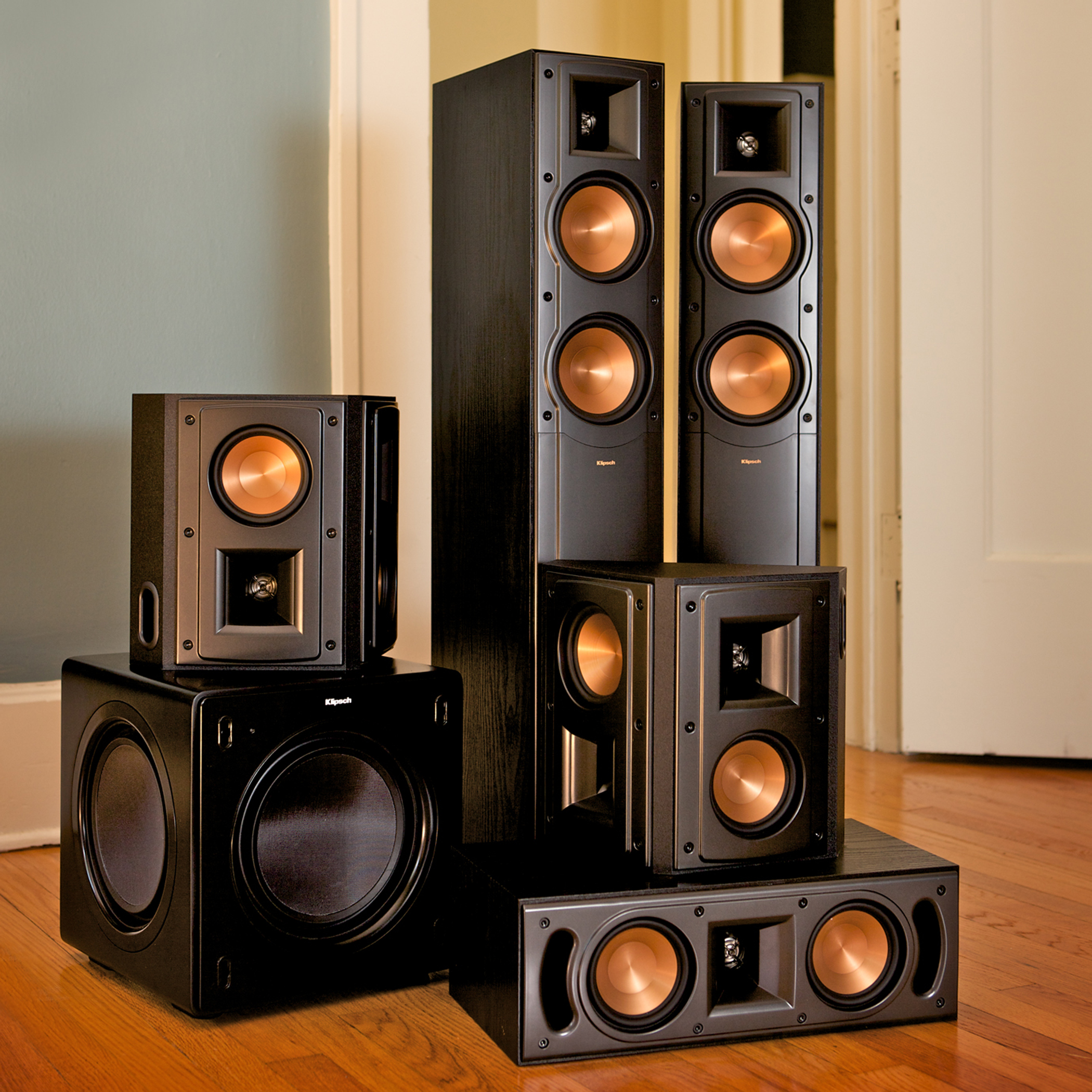 rf 42 ii floorstanding speaker klipsch features