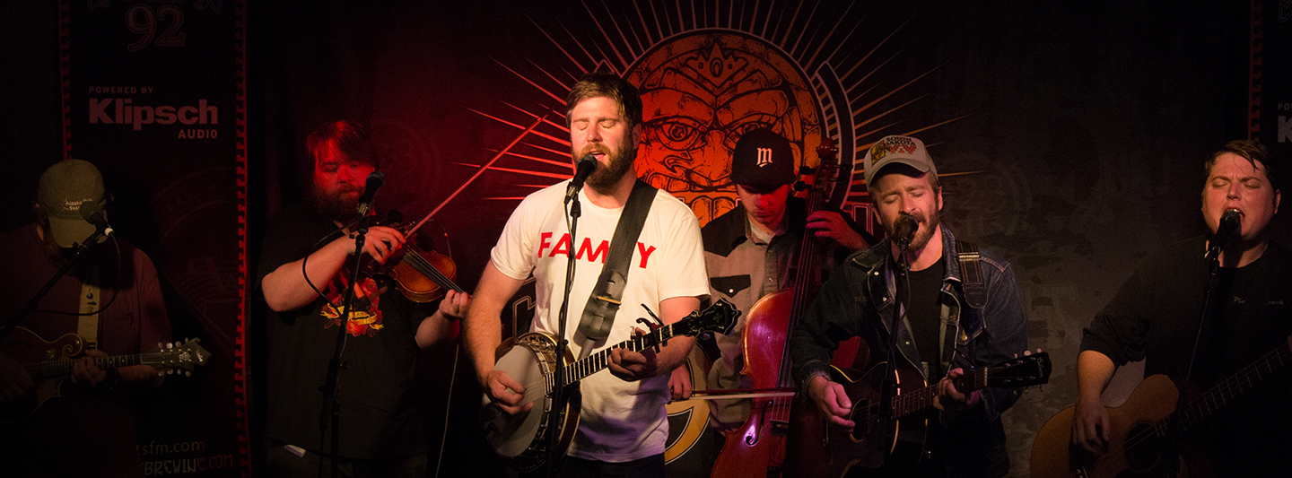 Trampled By Turtles at Sun King Studio 92 powered by Klipsch Audio