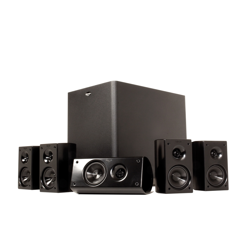 hd theater 300 home theater system high quality audio by klipsch. Black Bedroom Furniture Sets. Home Design Ideas