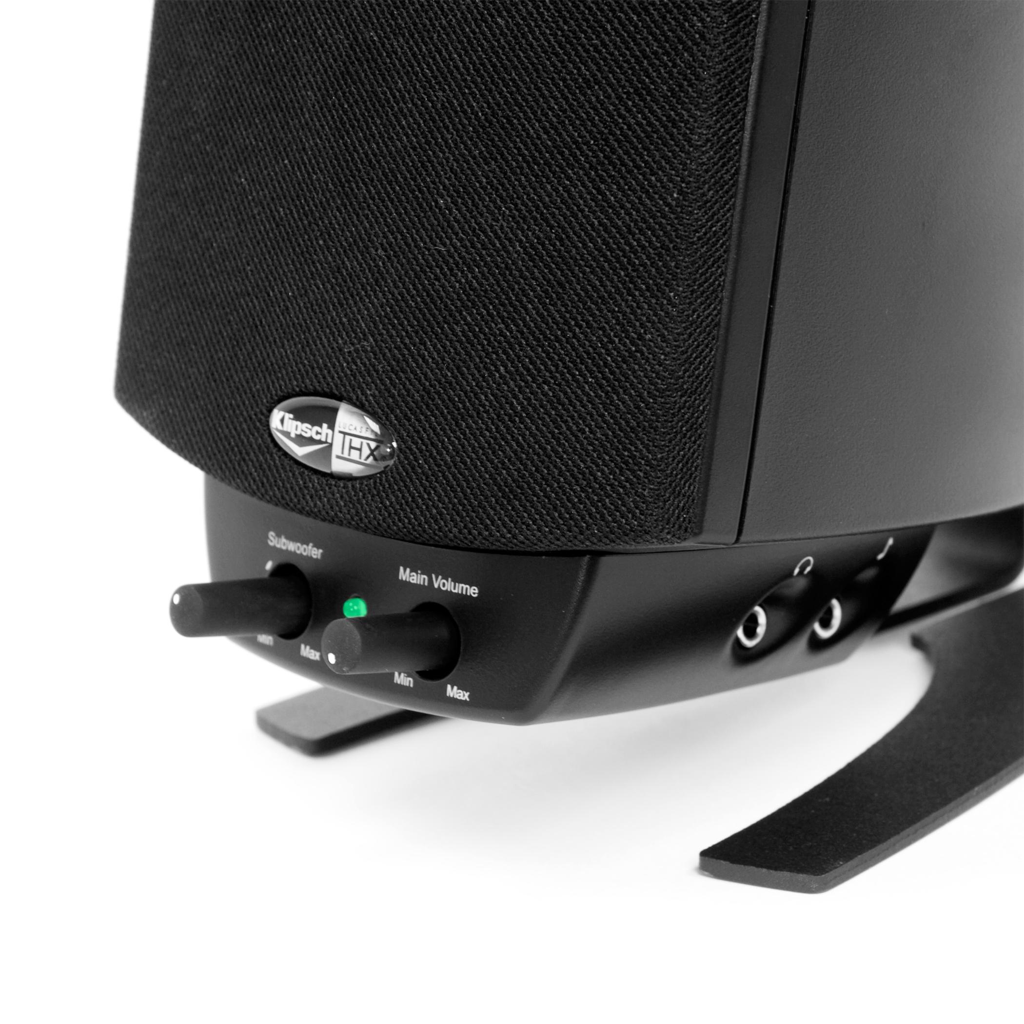 Klipsch Headphone Plug Wiring Diagram Library Speakers Classic Award Winning Sound Promedia 21 Wireless Computer