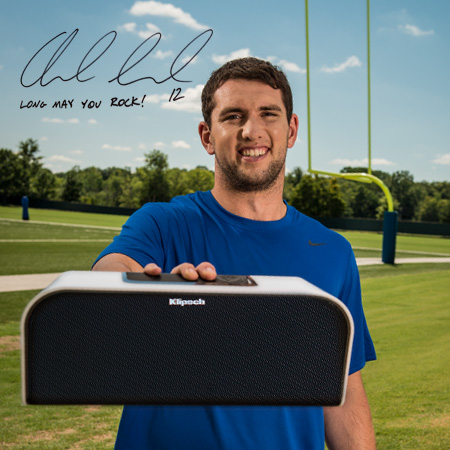 Andrew Luck Team Klipsch