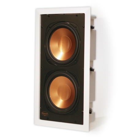 Klipsch RW-5802 In Wall Subwoofer (Angle)