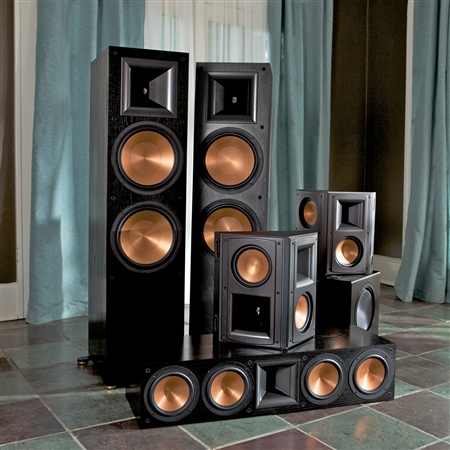 review klipsch rf 7ii reference series home theater. Black Bedroom Furniture Sets. Home Design Ideas